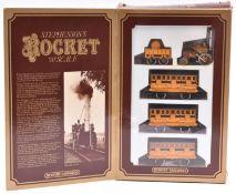 A Hornby Railways OO gauge Stephenson's Rocket Train Pack. Comprising the locomotive 'Rocket'(
