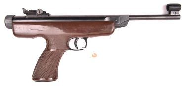"""A .22"""" Original Mod 5 target air pistol, with fully adjustable rearsight, turned foresight, and"""