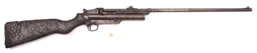 """303 A .22"""" final type Webley Service Air Rifle Mark II, number S5702, the barrel numbered to the"""