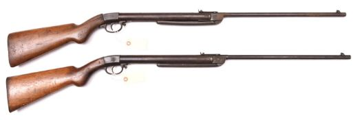 """A pre war German .177"""" Diana Model 27 break action air rifle, GWO& C, (requires cleaning,"""