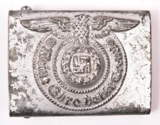 A Third Reich SS OR's belt buckle, GC £60-80