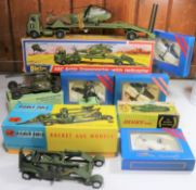 Quantity of various makes. Dinky Toys AEC Artic Transporter with Helicopter (618). Corgi Major