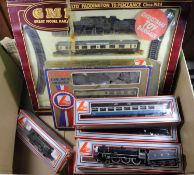 11x OO gauge railway items by Lima and GMR. Including; a Cornish Riviara Train set comprising a