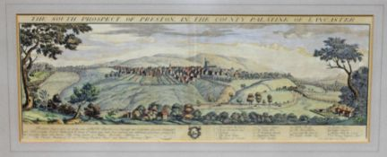 "Buck (Samuel & Nathaniel), ""The South Prospect of Preston In The County Palatine of Lancaster"","