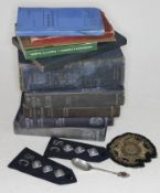 Police items including moriarty books, war editions etc.