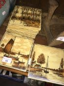 Ten Tiles depicting Dutch scenes The-saleroom.com showing catalogue only, live bidding available via