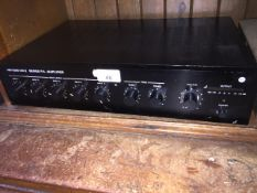 A.M. 1000 MKII series P.A. Amplifier The-saleroom.com showing catalogue only, live bidding available
