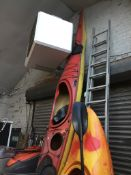 A P.H fibreglass sea kayak Catalogue only, live bidding available via our website, if you require
