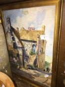 Barbara Bennett, Whitby, watercolour, signed lower left, framed and glazed. Catalogue only, live