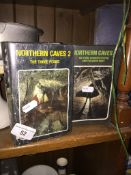 2 Northern cave system books. Catalogue only, live bidding available via our website, if you require
