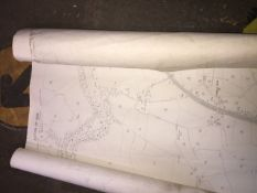Two Ordnance Survey maps 1908/09 of Yorkshire (West Riding) Catalogue only, live bidding available