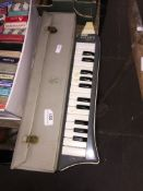 A Hohner Melodica piano 26 in original case. Catalogue only, live bidding available via our website,