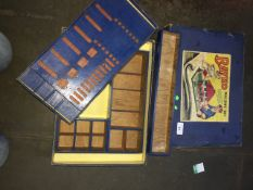 A Bayko part building set. Catalogue only, live bidding available via our website, if you require