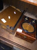 A mini magnifier and a small guillotine Please note, lots 1-1000 are not available for live