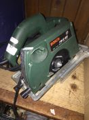 A Bosch PKS 46 circular saw. Please note, lots 1-1000 are not available for live bidding on the-