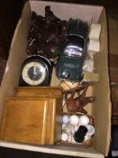 A small box of collectables Please note, lots 1-1000 are not available for live bidding on the-