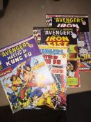 4 Avengers comics - 1974 Please note, lots 1-1000 are not available for live bidding on the-