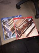 Beatles LPs - blue and red Please note, lots 1-1000 are not available for live bidding on the-