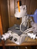 Mitutoyo toolmaker microscope. Please note, lots 1-1000 are not available for live bidding on the-