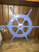 A ships wheel Please note, lots 1-1000 are not available for live bidding on the-saleroom.com,