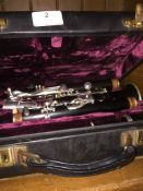 A Buffet Crampon & Co clarinet in case. Please note, lots 1-1000 are not available for live