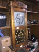 A wall clock Please note, lots 1-1000 are not available for live bidding on the-saleroom.com,