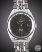 A GENTLEMAN'S STAINLESS STEEL IWC YACHT CLUB AUTOMATIC BRACELET WATCH CIRCA 1969, REF. 811A WITH
