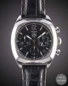 A GENTLEMAN'S STAINLESS STEEL TAG HEUER MONZA CHRONOGRAPH WRIST WATCH CIRCA 2005, REF. CR2113-0 WITH