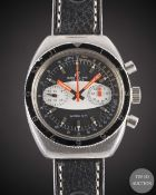 A GENTLEMAN'S STAINLESS STEEL BREITLING SPRINT CHRONOGRAPH WRIST WATCH CIRCA 1970, REF. 2122 WITH ""