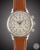 A GENTLEMAN'S STAINLESS STEEL BREITLING CHRONOMAT CHRONOGRAPH WRIST WATCH CIRCA 1966, REF. 808