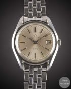 A GENTLEMAN'S STAINLESS STEEL ETERNA MATIC KONTIKI BRACELET WATCH CIRCA 1968, REF. 130 TT