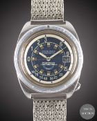 A GENTLEMAN'S STAINLESS STEEL BLANDFORD S.A. SQUALE OCEAN DIVER PROFONDUS DEPTH GAUGE DIVERS