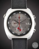 A GENTLEMAN'S STAINLESS STEEL NIVADA TARAVANA AUTOCHRON AUTOMATIC DIVERS CHRONOGRAPH WRIST WATCH