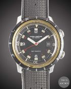 A RARE GENTLEMAN'S STAINLESS STEEL NIVADA GRENCHEN DEPTHOMATIC DEPTH GAUGE AUTOMATIC DIVERS WRIST