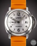 A GENTLEMAN'S STAINLESS STEEL PANERAI 40MM LUMINOR MARINA WRIST WATCH CIRCA 2000, REF. OP 6529 B