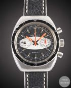 A GENTLEMAN'S STAINLESS STEEL BREITLING SPRINT CHRONOGRAPH WRIST WATCH CIRCA 1970, REF. 2212 WITH ""