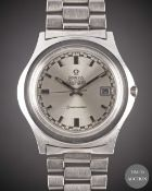 A GENTLEMAN'S STAINLESS STEEL OMEGA SEAMASTER AUTOMATIC CHRONOMETER BRACELET WATCH CIRCA 1972,