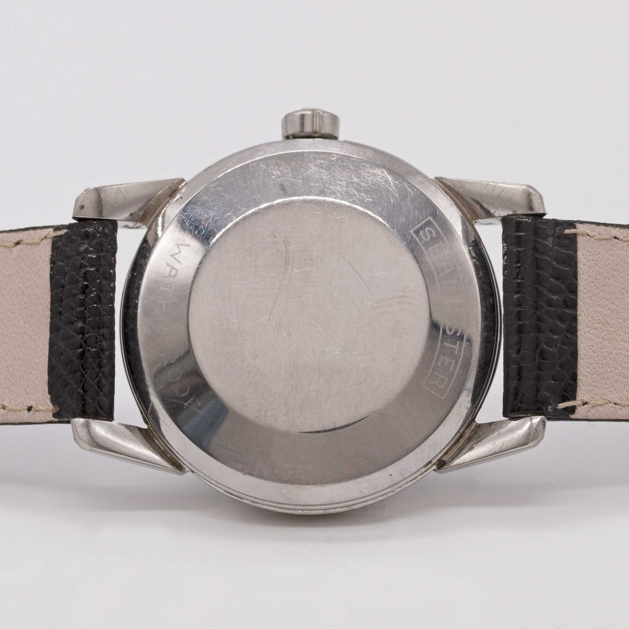 Lot 17 - A GENTLEMAN'S STAINLESS STEEL OMEGA SEAMASTER AUTOMATIC WRIST WATCH CIRCA 1956, REF. 2846 / 2848 6