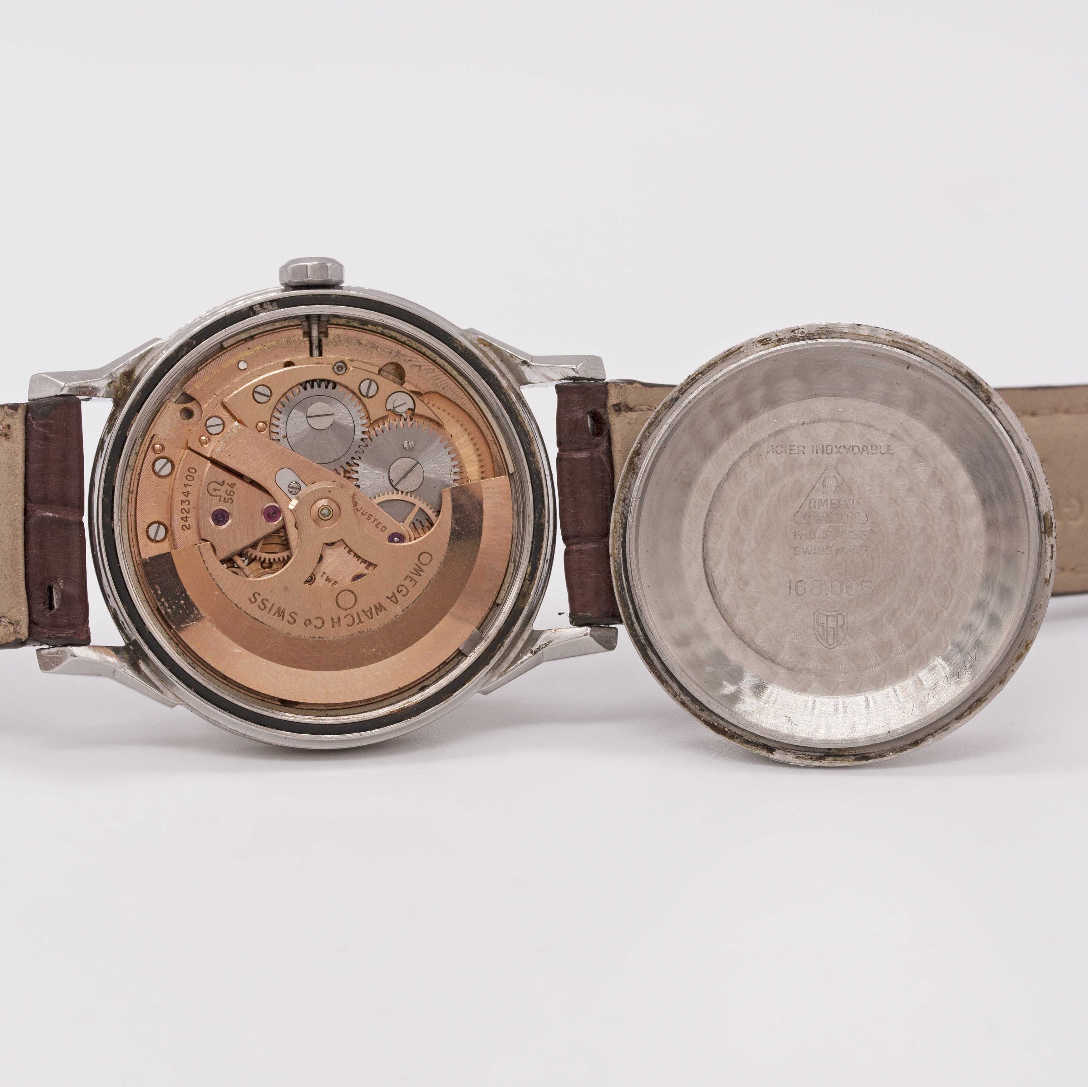 Lot 20 - A GENTLEMAN'S STAINLESS STEEL OMEGA CONSTELLATION CHRONOMETER WRIST WATCH CIRCA 1967, REF. 168.005