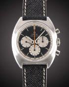 AGENTLEMAN'S STAINLESS STEEL OMEGA SEAMASTER CHRONOGRAPH WRIST WATCH CIRCA 1967, REF.145.006-66