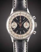 A GENTLEMAN'S STAINLESS STEEL BREITLING CHRONOMAT CHRONOGRAPH WRIST WATCH CIRCA 1963, REF. 808