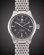A GENTLEMAN'S STAINLESS STEEL IWC MARK XII AUTOMATIC BRACELET WATCH CIRCA 2000, REF. 3241 WITH IWC