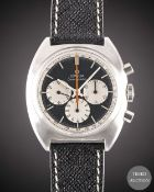 A GENTLEMAN'S STAINLESS STEEL OMEGA SEAMASTER CHRONOGRAPH WRIST WATCH CIRCA 1967, REF. 145.006-66
