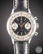 A GENTLEMAN'S STAINLESS STEEL BREITLING CHRONOMAT CHRONOGRAPH WRIST WATCH CIRCA 1963, REF. 808