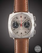 "A GENTLEMAN'S BREITLING TOP TIME CHRONOGRAPH WRIST WATCH CIRCA 1969, REF. 2006/33 WITH ""PANDA"""