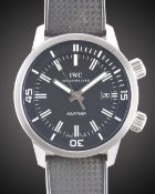 A GENTLEMAN'S STAINLESS STEEL IWC AQUATIMER VINTAGE AUTOMATIC WRIST WATCH CIRCA 2008, REF.