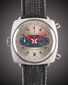 A GENTLEMAN'S STAINLESS STEEL BREITLING CHRONO-MATIC CHRONOGRAPH WRIST WATCH CIRCA 1970, REF. 2111