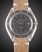A GENTLEMAN'S STAINLESS STEEL EBERHARD & CO SCAFOGRAF 300 AUTOMATIC DIVERS WRIST WATCH CIRCA