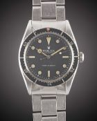 A GENTLEMAN'S STAINLESS STEEL ROLEX OYSTER PERPETUAL TURN-O-GRAPH BRACELET WATCH CIRCA 1954, REF.