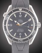 "A GENTLEMAN'S STAINLESS STEEL OMEGA SEAMASTER PROFESSIONAL ""JAMES BOND"" PLANET OCEAN CO-AXIAL"